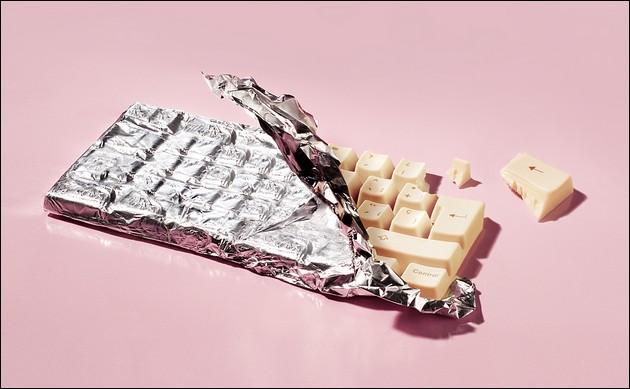 巧克力鍵盤