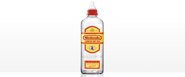 天真無邪酒瓶