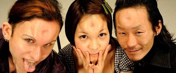 超詭異次文化!日本的貝果頭