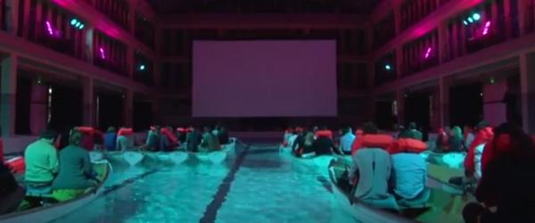 在巴黎,在電影院裡搭船看《少年pi》只是剛好而已
