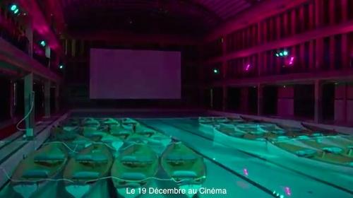 在巴黎,在電影院裡搭船看《少年pi》只是剛好而已1