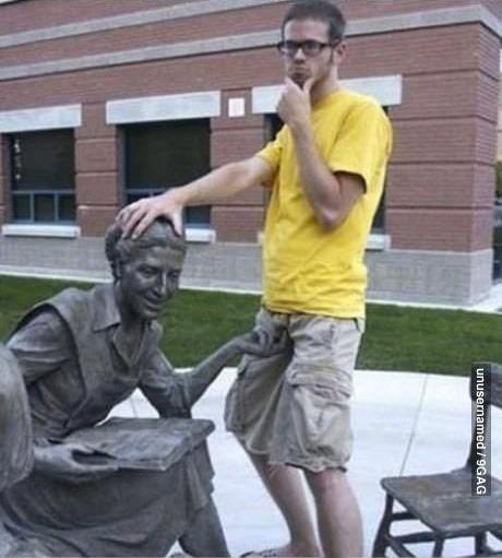 如何被雕像霸凌4