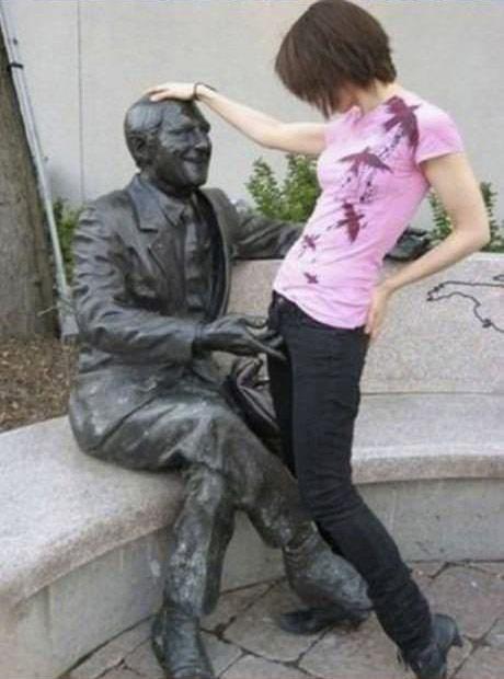 如何被雕像霸凌5