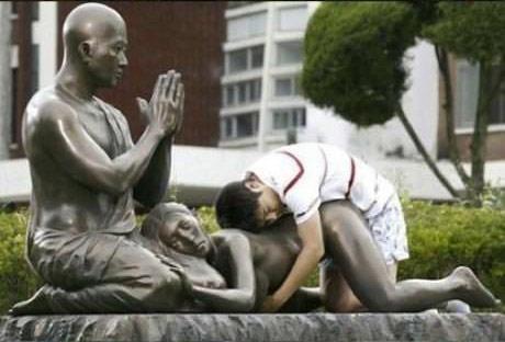 如何被雕像霸凌7