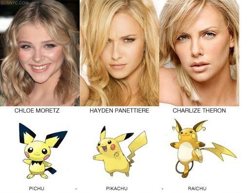 明星vs神奇寶貝1
