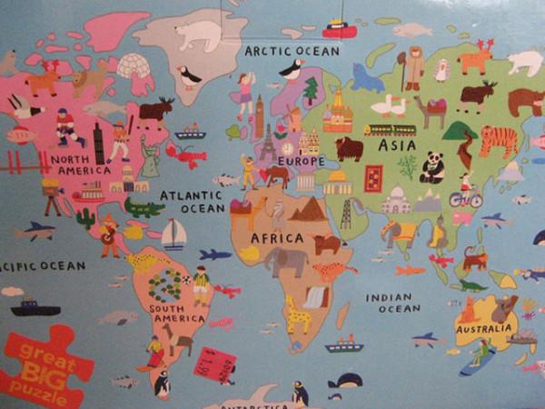 老外看世界!40張創意世界地圖11