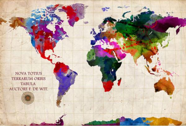 老外看世界!40張創意世界地圖15