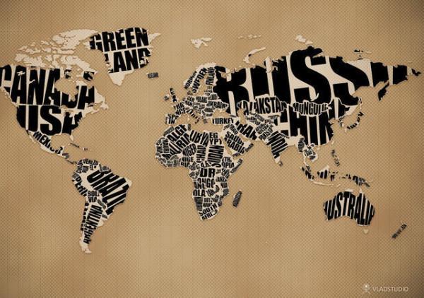 老外看世界!40張創意世界地圖16