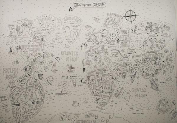 老外看世界!40張創意世界地圖17
