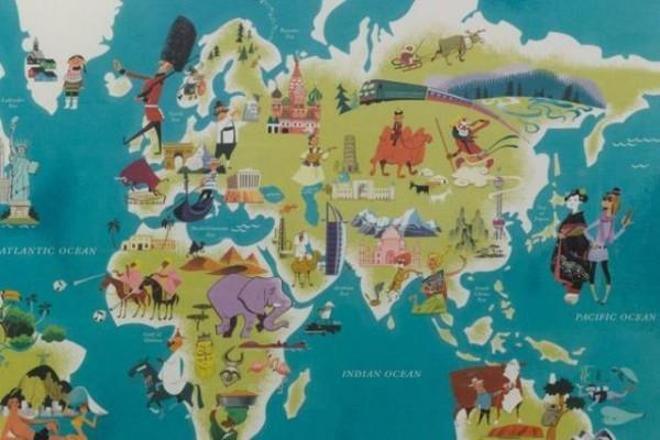 老外看世界!40張創意世界地圖19