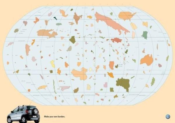 老外看世界!40張創意世界地圖27