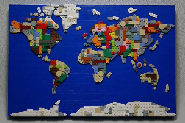 老外看世界!40張創意世界地圖3