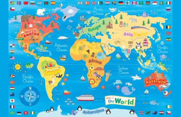 老外看世界!40張創意世界地圖30