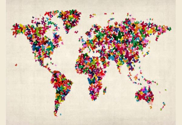 老外看世界!40張創意世界地圖32