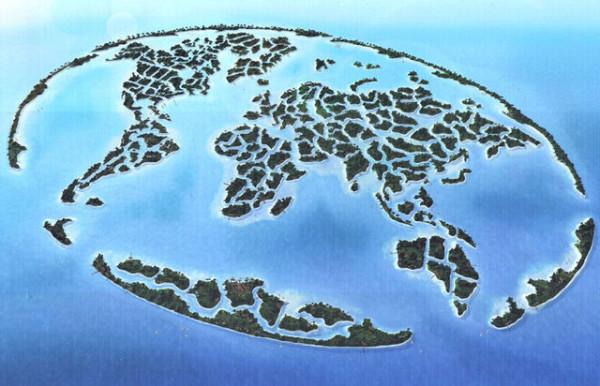 老外看世界!40張創意世界地圖34