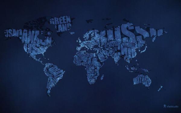 老外看世界!40張創意世界地圖4