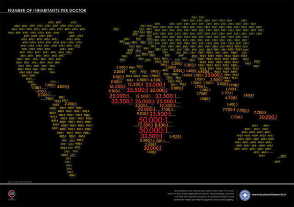 老外看世界!40張創意世界地圖40