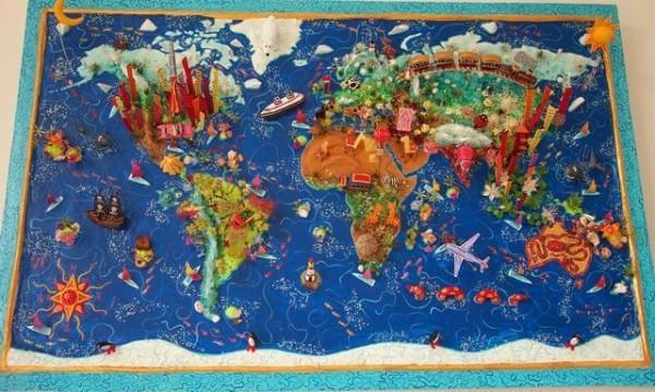 老外看世界!40張創意世界地圖41