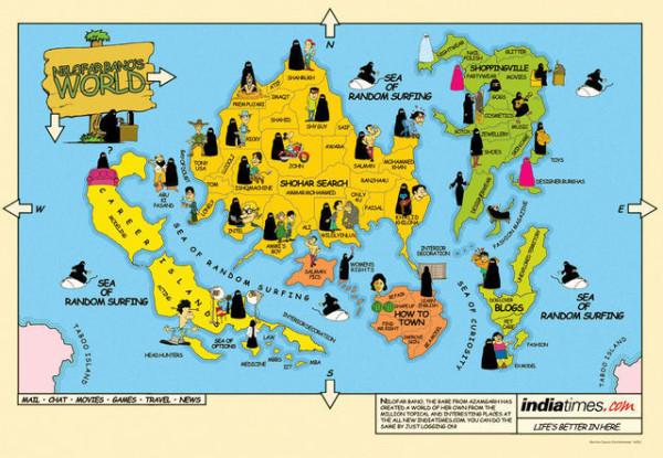 老外看世界!40張創意世界地圖42