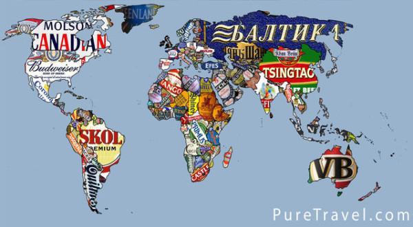 老外看世界!40張創意世界地圖43