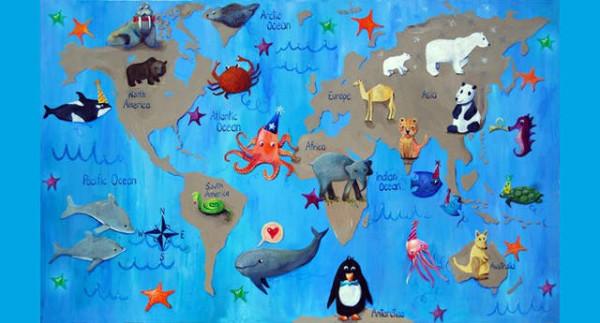 老外看世界!40張創意世界地圖44