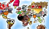 老外看世界!40張創意世界地圖5
