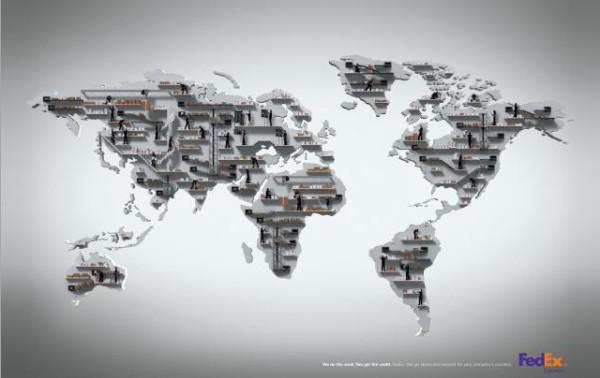老外看世界!40張創意世界地圖7
