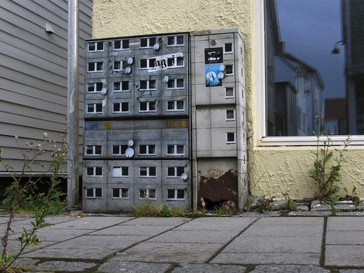 風景畫Out!化身小小公寓的變電箱11