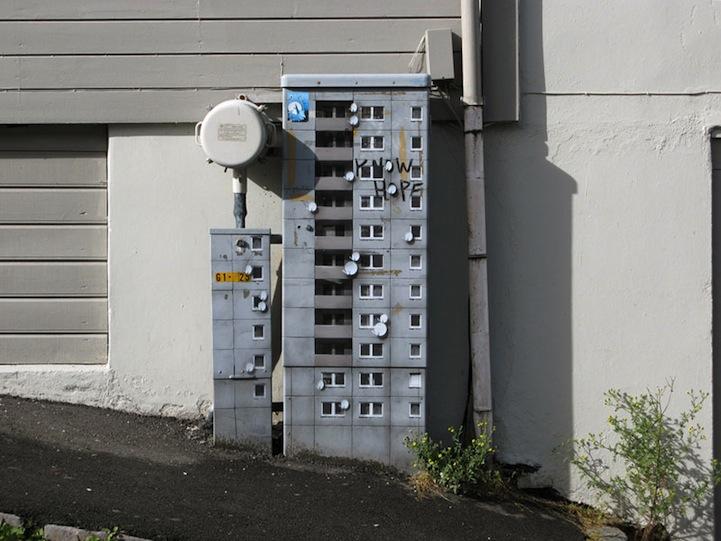 風景畫Out!化身小小公寓的變電箱12