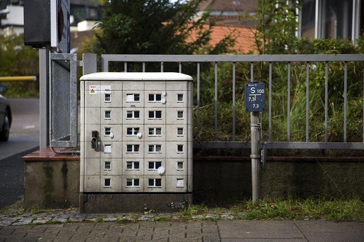 風景畫Out!化身小小公寓的變電箱2