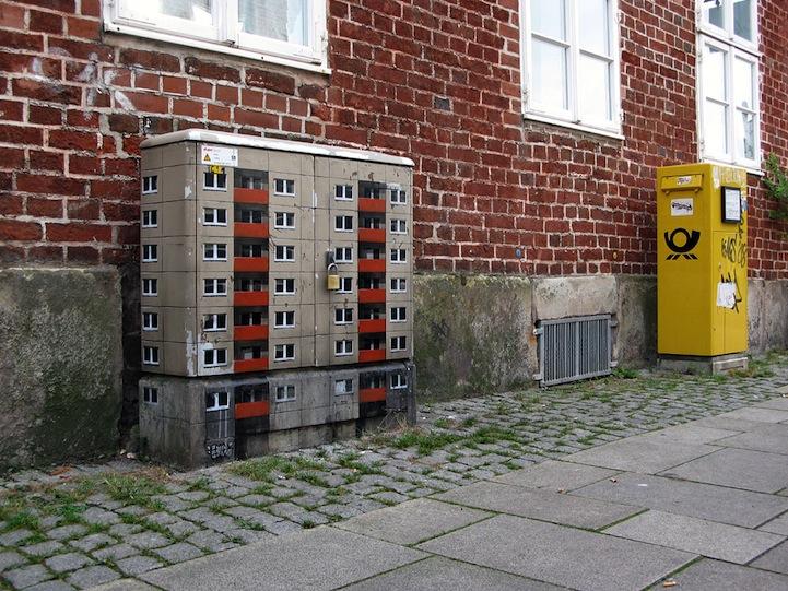 風景畫Out!化身小小公寓的變電箱3