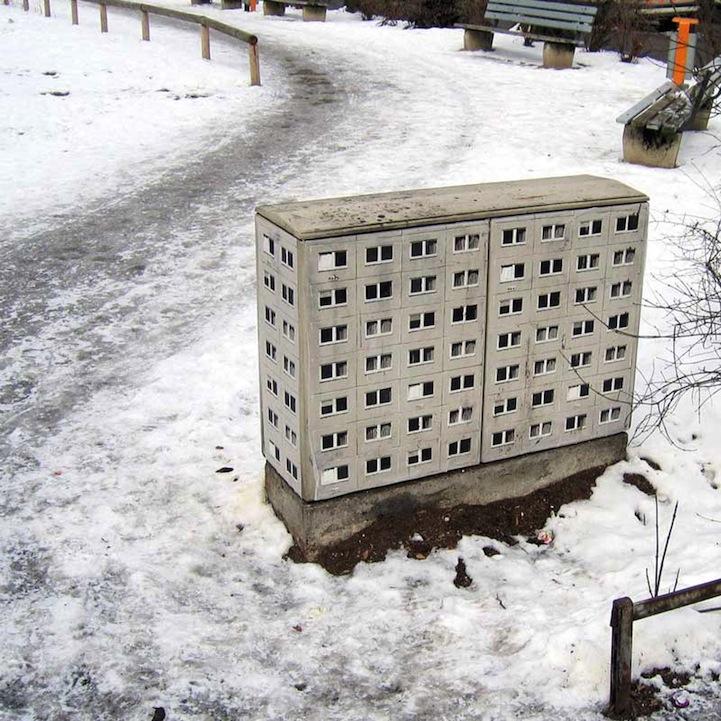 風景畫Out!化身小小公寓的變電箱4