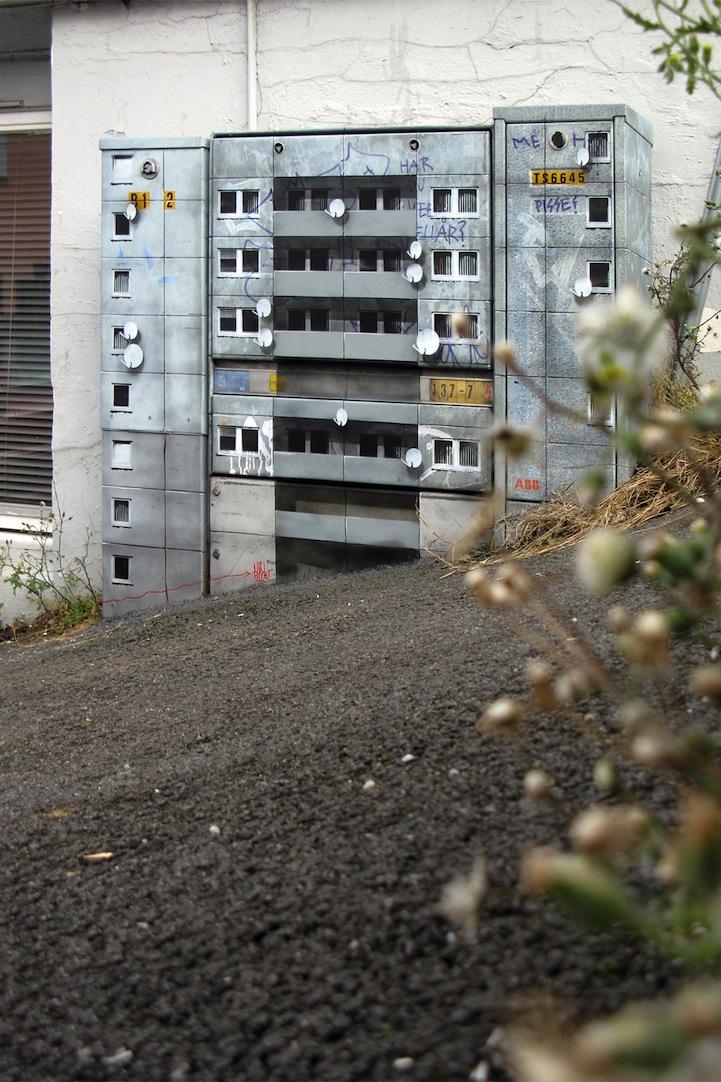 風景畫Out!化身小小公寓的變電箱5