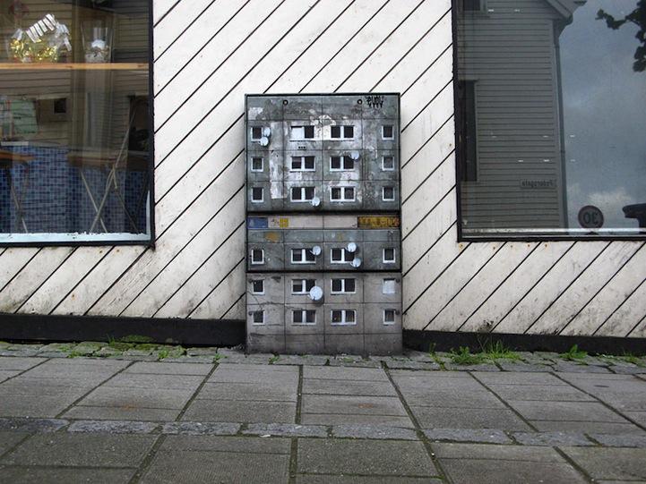 風景畫Out!化身小小公寓的變電箱6