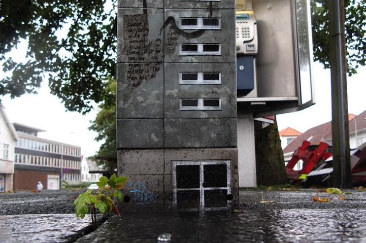 風景畫Out!化身小小公寓的變電箱8