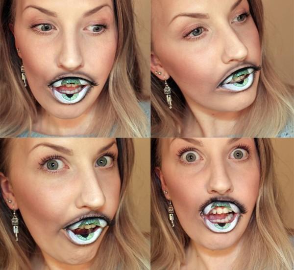 這不是Photoshop,這是化妝術!2