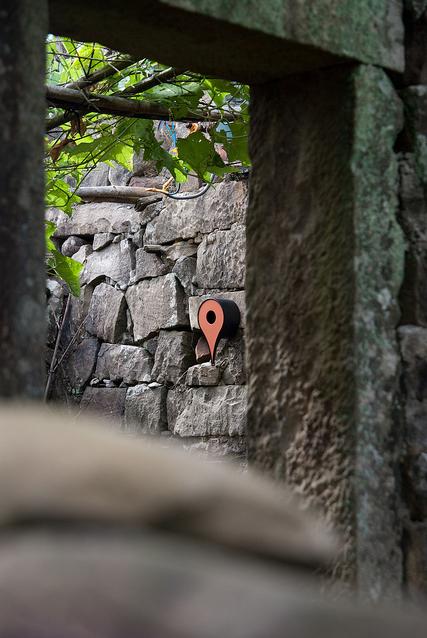 Google地圖指引小小鳥兒回家7
