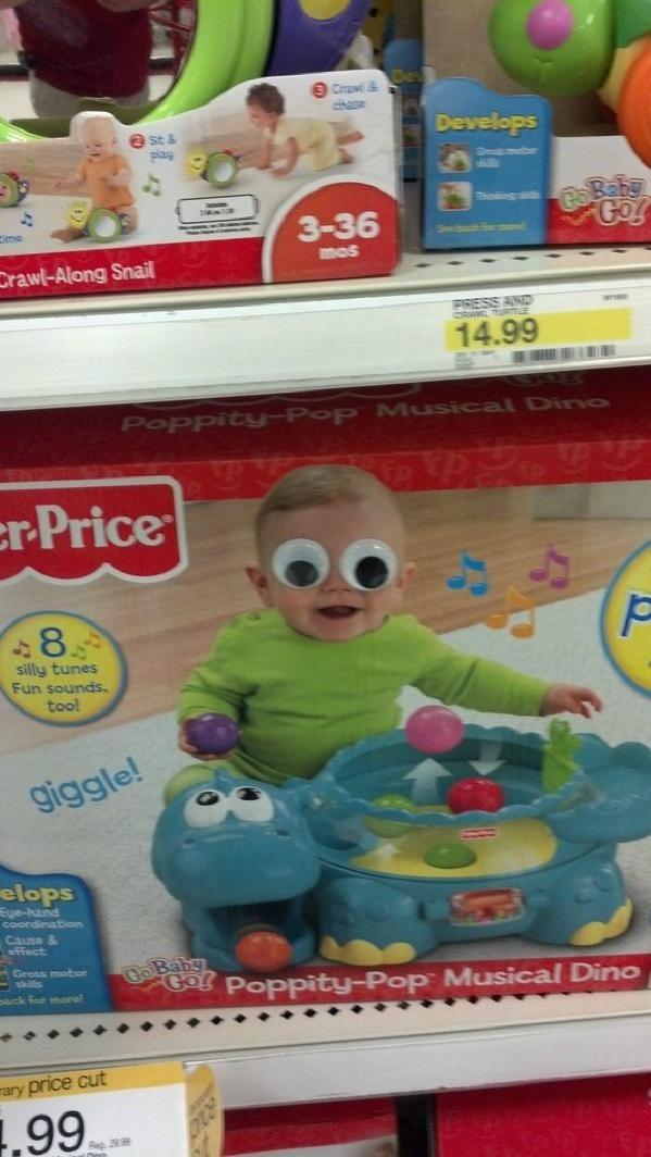 事實證明,玩具眼睛讓世界更美好24