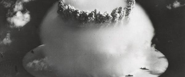 史上第一次的水底核爆