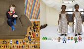 各國孩子展示自己的玩具