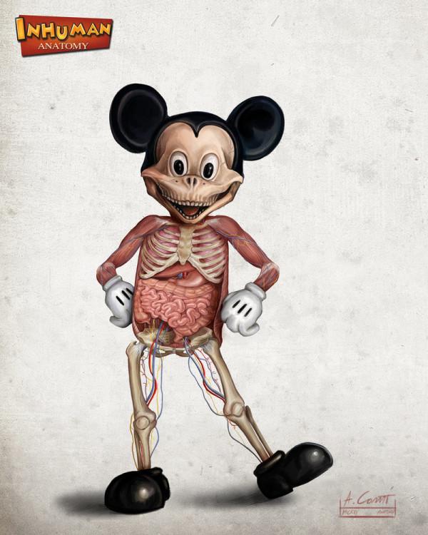 形象破壞!被解剖的迪士尼角色2