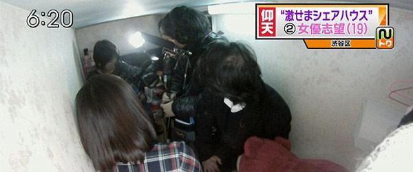 比香港還小!日本棺材大小的房間