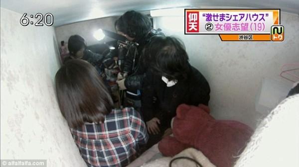 比香港還小!日本棺材大小的房間3