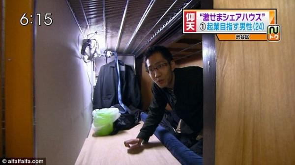 比香港還小!日本棺材大小的房間4