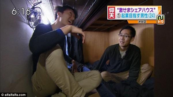 比香港還小!日本棺材大小的房間6