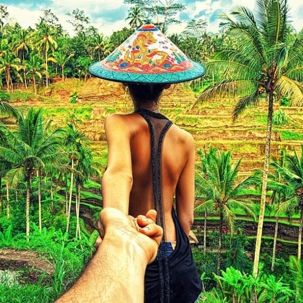 永遠追隨你!創意又浪漫的旅行照片1