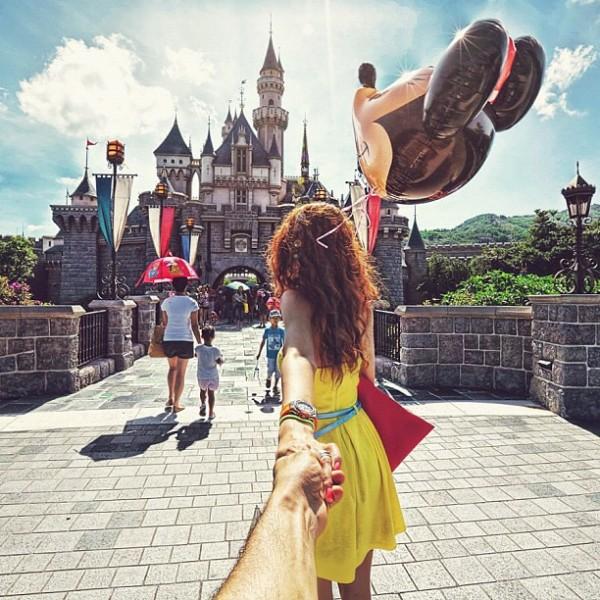 永遠追隨你!創意又浪漫的旅行照片10