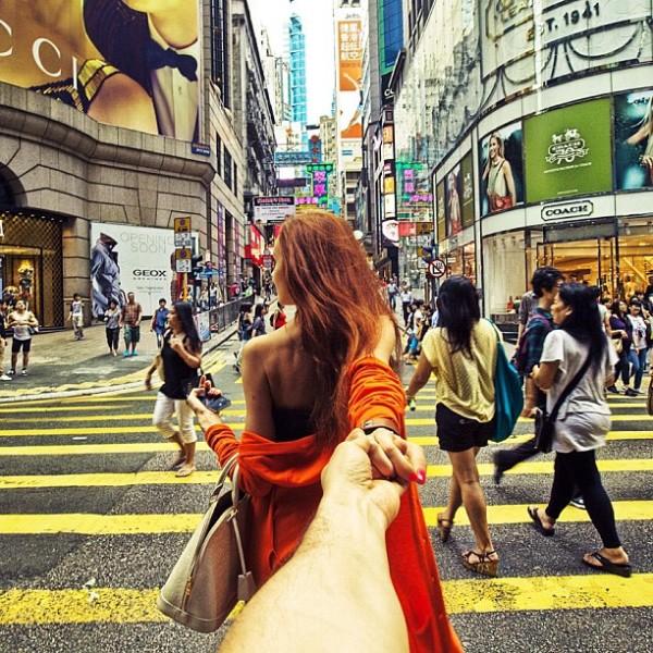 永遠追隨你!創意又浪漫的旅行照片11