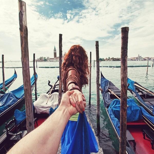 永遠追隨你!創意又浪漫的旅行照片12
