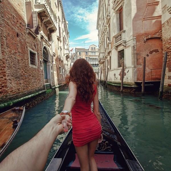 永遠追隨你!創意又浪漫的旅行照片15